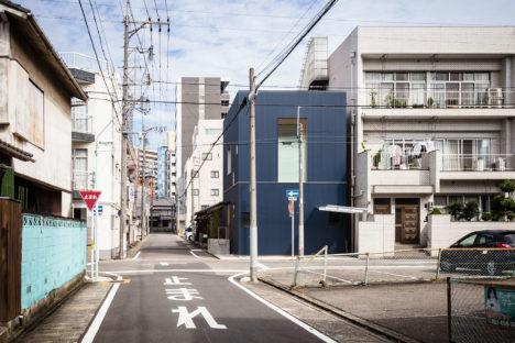 サムネイル:服部信康建築設計事務所による、愛知県名古屋市の住宅「鶴舞の住まい」(2016/10/23に見学会が開催)