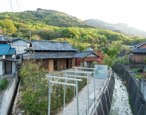 サムネイル:スプツニ子!の施設構想、成瀬・猪熊建築設計事務所の建築設計による、香川県・豊島のアートスペース「豊島八百万ラボ」