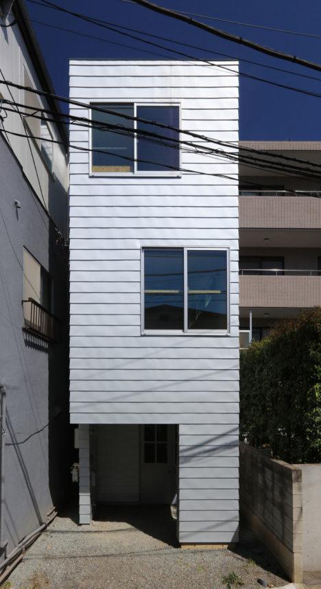 サムネイル:アトリエハコ建築設計事務所による、東京都渋谷区の住宅「本町の住宅」