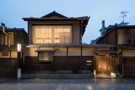 サムネイル:ODS / 鬼木孝一郎による、京都の祇園町家を改修した「エルメス祇園店」