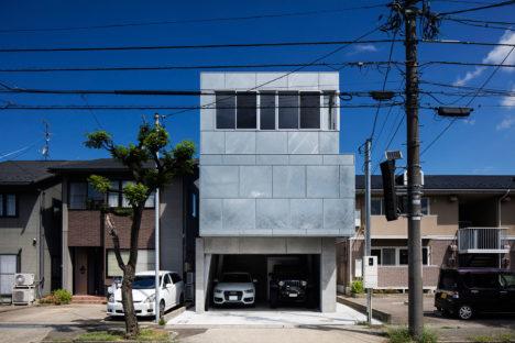 サムネイル:吉田裕一建築設計事務所による、石川県の住宅「新保本・HOUSE・K」