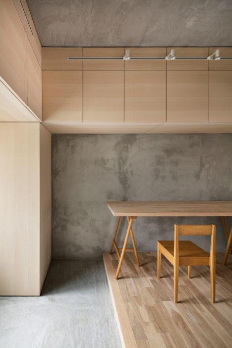 サムネイル:PERSIMMON HILLS architects / 柿木佑介+廣岡周平による、大阪の、分譲マンションの改修計画「柱型/梁型」