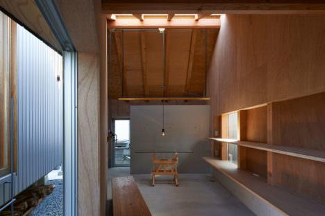 サムネイル:今津康夫 / ninkipen!による、奈良・生駒の住宅を改修・増築した、照明ブランドのショールームとギャラリー「NEW LIGHT POTTERY」