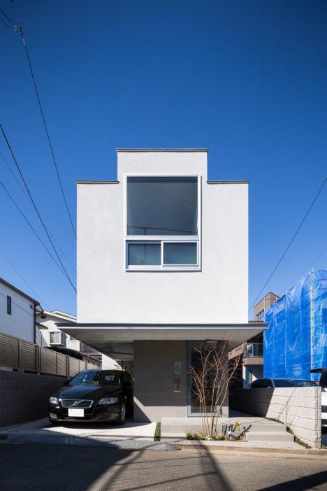 サムネイル:木村浩一 / フォルム・木村浩一建築研究所による、東京の住宅「愛らしい家」