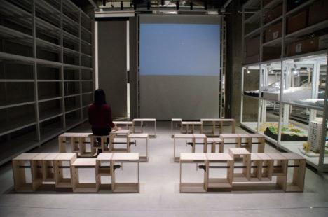 サムネイル:永田幹 / iei studio + 尾形良樹 / 尾形良樹+SALTが建築倉庫ミュージアムのために設計したベンチ「B.L.T bench」
