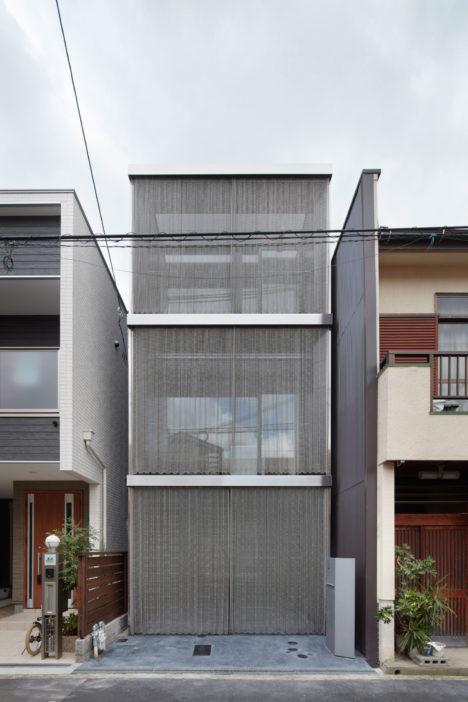 サムネイル:藤原・室建築設計事務所による、大阪市の住宅「南田辺の家」