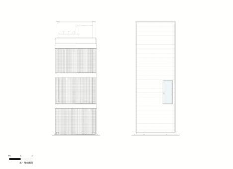 Minami-tanabe-13-20170301_House_in_minamitanabe_elevation01_North_South_JPN