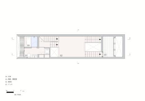 Minami-tanabe-21-20170302_House_in_minamitanabe_plan04_3F_JPN