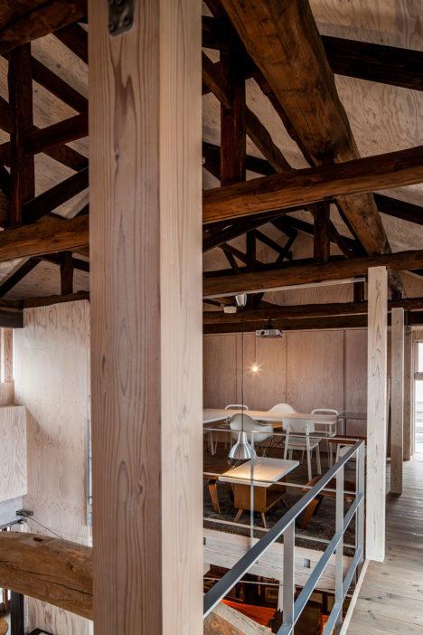 サムネイル:大木代吉本店(酒蔵)復興プロジェクトチーム・岩堀未来による、福島の、江戸時代から続く酒蔵の店舗のリノベーション