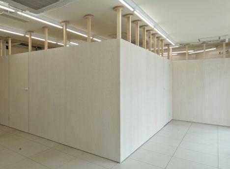 サムネイル:山本真也建築設計事務所による、東京・世田谷の「スタンプパーティション」