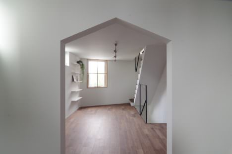 サムネイル:謡口志保 / ウタグチシホ建築アトリエによる、愛知・名古屋の、作業場兼用住宅「橘の家」