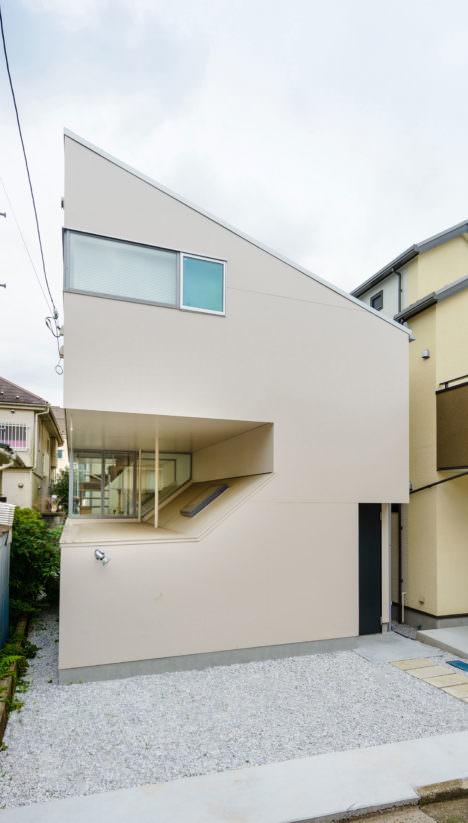 サムネイル:八木敦之建築設計事務所による、東京の住宅「houseY」