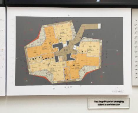 サムネイル:ロンドンのロイヤル・アカデミー・オブ・アーツ主催の公募展で、エマージング・タレント(新しい才能)賞を受賞した、田辺雄之によるドローイング