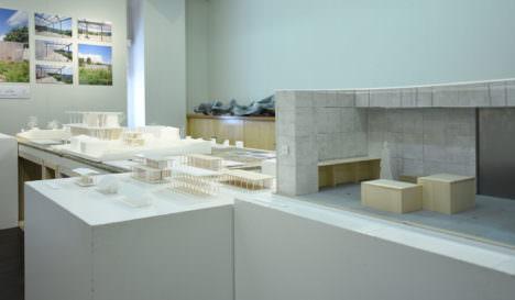 サムネイル:前嶋章太郎+朔永吉による建築展「建築のスケール / SCALES OF ARCHITECTURE」の会場写真
