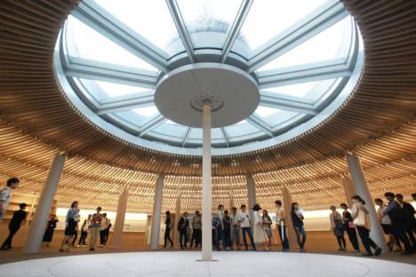 サムネイル:川添善行+東京大学施設部+清水建設による、「東京大学総合図書館新館+ライブリープラザ」の写真