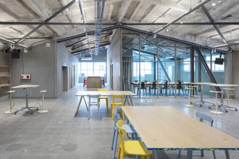 サムネイル:長坂常 / スキーマ建築計画による、東京・渋谷のオフィス「100BANCH」