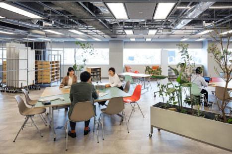サムネイル:成瀬・猪熊建築設計事務所による、愛知の「株式会社デンソー 名古屋オフィス」