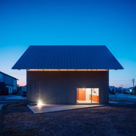 サムネイル:矢橋徹建築設計事務所による、大分の住宅「豊後高田の家」