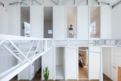 サムネイル:後藤周平建築設計事務所による、静岡市の「静岡のリノベーション」