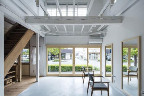 サムネイル:加藤隼輝+杉山聖昇 / Poten-Potenによる、長野の「上松の美容室」