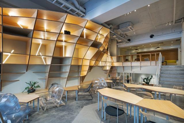 田中亮平 / G architects studioによる「pRC painting studio」 | architecturephoto.net